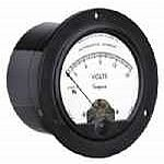 Simpson Catalog Number - 07180Model - 25AStyle - Round  0-250  DCV   3.5 UL RNDRating- 0-250 V/DCScale- 0-250Legend- DC VOLTS - Product Image